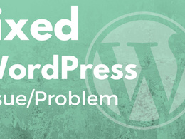 Fixed  WordPress