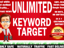 Provide SEO KEYWORD SEARCH  Organic Traffic with low BOUNCE