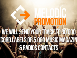 Send your Track to 30.000 Record labels or 5.000 Music Magazines & Radios Contacts