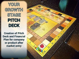 Deliver a pitch deck/ management presentation for your growth business or SME