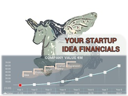 Prepare startup financials & provide the indicative value of your idea stage startup