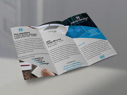 Design your bi fold/tri fold professional Brochure