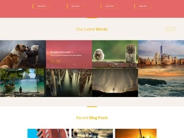 Design Outstanding PSD mockup for your Website Template / Landing Page