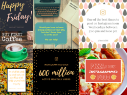 Design 10 shareable social media images for your business