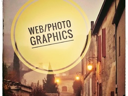 Create alluring photo-graphics / banners for your SEO site etc