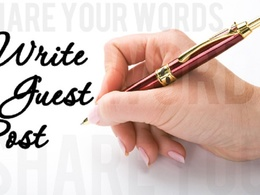 Write a guest post for you at tripntale.com DA 38