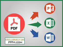 Convert pdf to excel, word & powerpoint