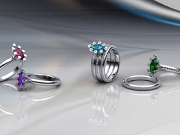Design any Jewelry as a 3D Model