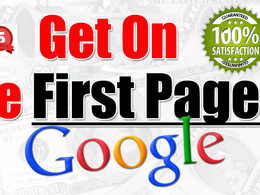 Guaranteed google 1st page rank with Monthly Powerful seo package