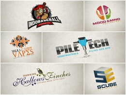 Do exclusive premium 3 logo design concepts with unlimited revisions