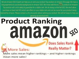 Grow your amazon ranking