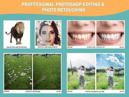 Professionally do any Photoshop Photo Editing