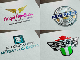 Professional LOGO within 24 hours + Unlimited Revisions + Source files.