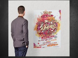 Design, print and deliver posters ( multiple sizes )