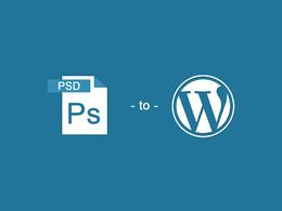Convert PSD to WordPress Flawlessly