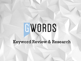 Conduct Keyword Review and Research