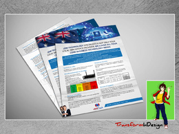 Design flyer, leaflet or a poster for your business
