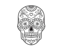 Create adult coloring book page