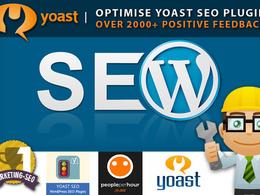 Expert YOAST SEO SETUP for your Wordpress onpage Website Optimisation
