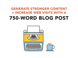 Write a well-researched and engaging blog post in 750 words