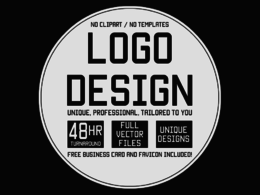 Design PROFESSIONAL  Logo + UNLIMITED concepts & Revisions + INTRO/OUTRO
