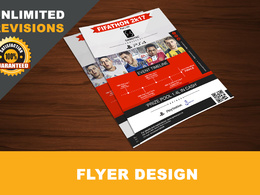 Design an amazing flyer or poster or leaflet or advertisement