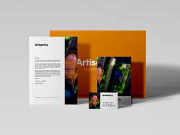 Design modern logo and matching brand identity kit