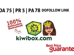 Guest Post in kiwibox.com PR5  DA 75 ( Do follow Link)