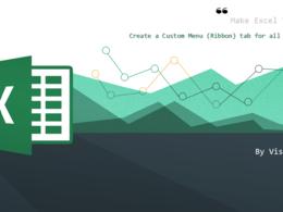 Create a Custom Menu (Ribbon) tab for all your Macros