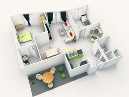 Make your 2d floor plan alive, make it 3d