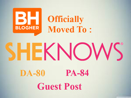 Publish a Guest Post on Blogher Sheknows.com