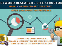 Expert Keyword Research and SEO Site Structure for your SEO strategy