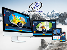 Design & develop your responsive SEO friendly WordPress Website.