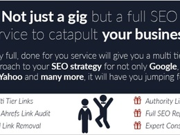Catapult your RANKINGS with  high pr seo authority links