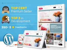 Develop fully secured, fast loading and responsive eCommerce website in WordPress