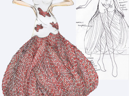 Draw your fashion idea