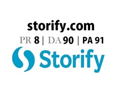 Publish on Storify.com (DA - 90) Storify