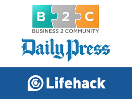 Guest post on business2community, dailypress, lifehack.org