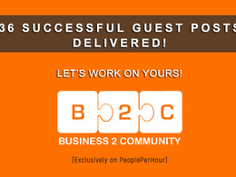 Write and publish your guest post on Business2Community.com