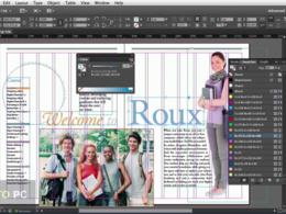 Design a layout of  book or magazine in Adobe In Design 40 pages