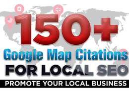 150 Local map Citations to improve local rankings powerful local SEO