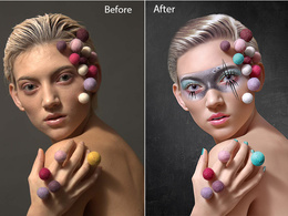 Do 5 photo retouching and photo editing on a professional level