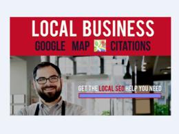 25 Google Map Citations - Local SEO