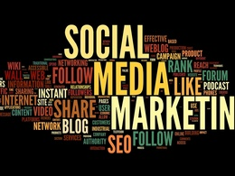 Promote and manage your social media accounts for 5 days