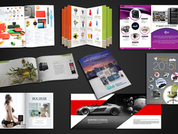 Create a professional eCommerce catalogue/brochure of 20 Pages