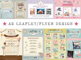 ★ Design A5 flyer/leaflet ★