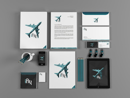 Design Your Stationary  with Unlimited Revision + Fast  Delivery
