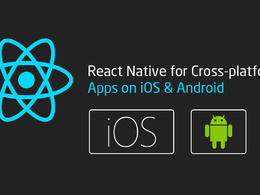Create react native mobile app based on the mockups provided