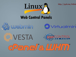 Install Webmin/Virtualmin, VESTACP, Cpanel/WHM or any Open Source Linux Control Panel