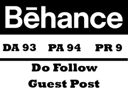 Publish a guest post on Behance DA 93 with Do Follow links